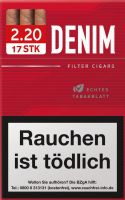 Denim Zigaretten Red Cigarillos L-Box (10x17er) 1,95 € | 19,50 €