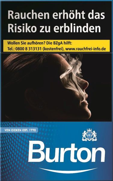 Burton Zigaretten Blue L-Box (10x20er)