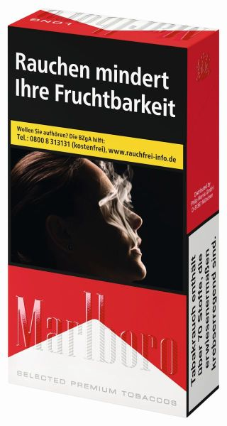 Marlboro Zigaretten Red Long (10x20er)
