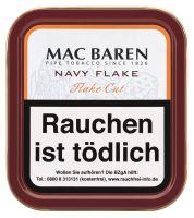 Mac Baren Pfeifentabak Navy Flake (Dose á 50 gr.)
