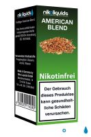American Blend eLiquid 0mg Nikotin/ml (10 ml)