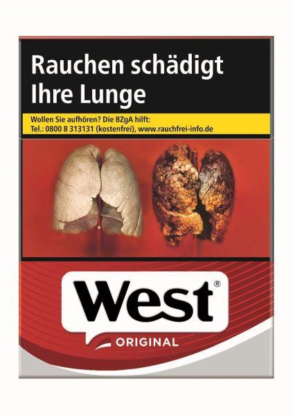 West Zigaretten Original XXL-Box (8x26er)