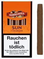 Handelsgold Zigarillos 209 Sun (Schachtel á 5 Stück)