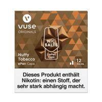 Vuse ePen Caps Nutty Tobacco Nic Salts 12mg Nikotin 2ml (2 Stück)
