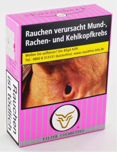 Skavenbeck Zigaretten n Pink Big (8x24er)