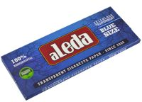 aLeda Extra Slim Blue Size transparentes Papier (110x44mm) (30 x 50 Stück)