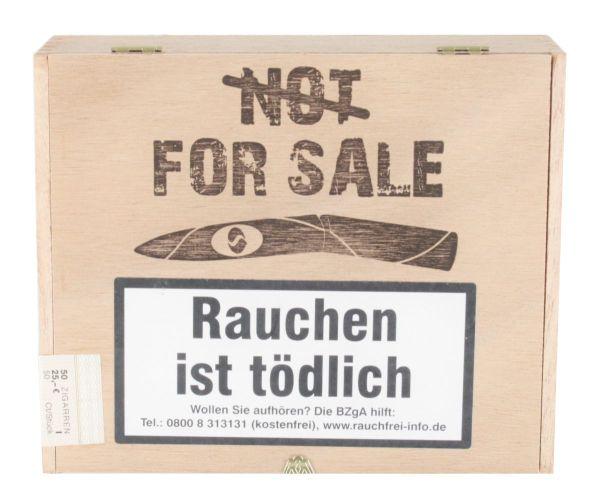 Diverse Zigarren Not For Sale Sumatra (Kiste á 50 Stück)