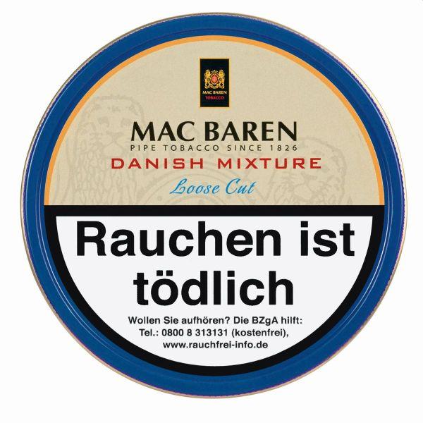 Mac Baren Pfeifentabak Danish Mixture (Dose á 100 gr.)