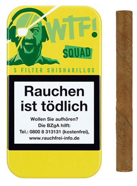WTF! Zigarillos Shisharillo SQUAD (Schachtel á 5 Stück)