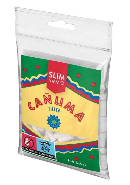 Canuma by Rizla Filter Tips (25 x 150 Stück)