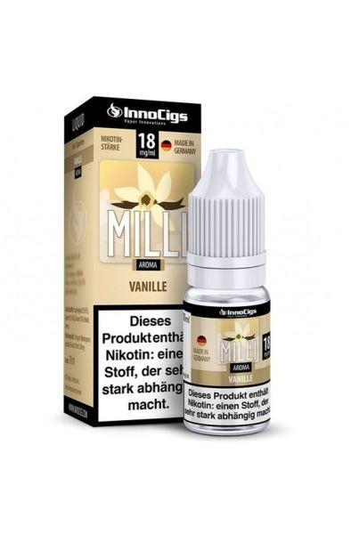 InnoCigs eLiquid Milli Vanille Aroma 18mg Nikotin/ml (10 ml)