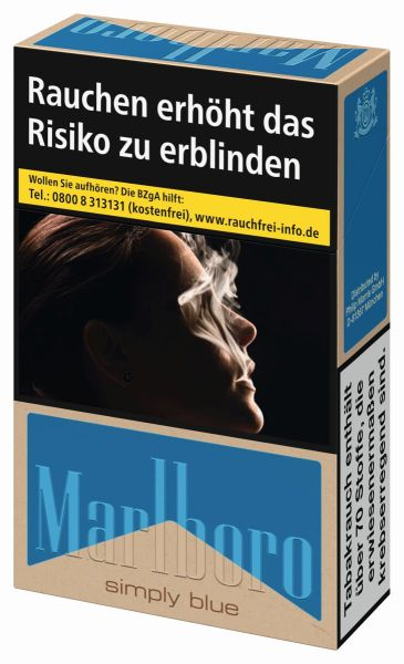 Marlboro Zigaretten Simply Blue (10x20er)