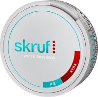 Skruf Ice Xtra White Chewing Bags 20g (17 gr.)