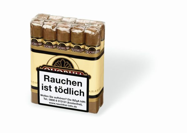 Quorum Zigarren Shade Robusto (Schachtel á 10 Stück)