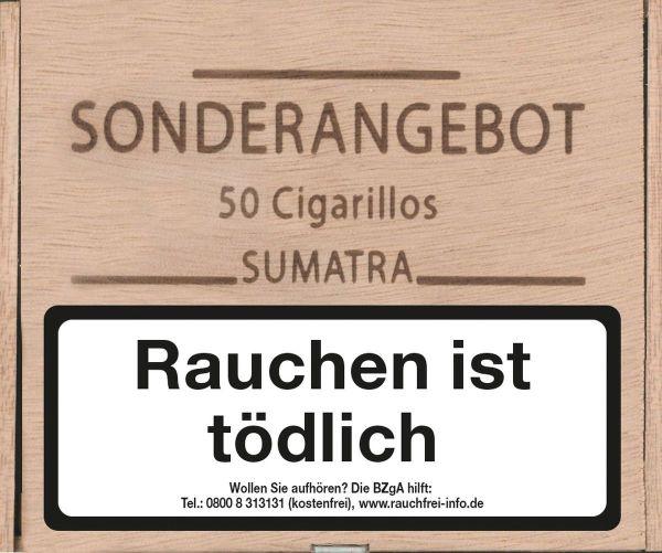 Kohlhase Kopp Zigarren Sonderangebot Sumatra (Packung á 50 Stück)