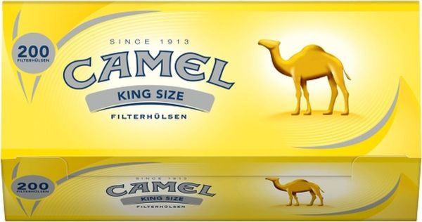 Camel Hülsen (5 x 200 Stück)