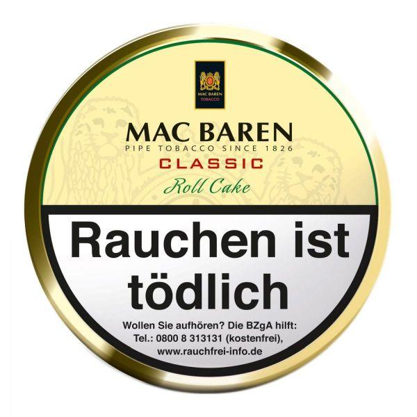 Mac Baren Pfeifentabak Classic Roll Cake (Dose á 100 gr.)