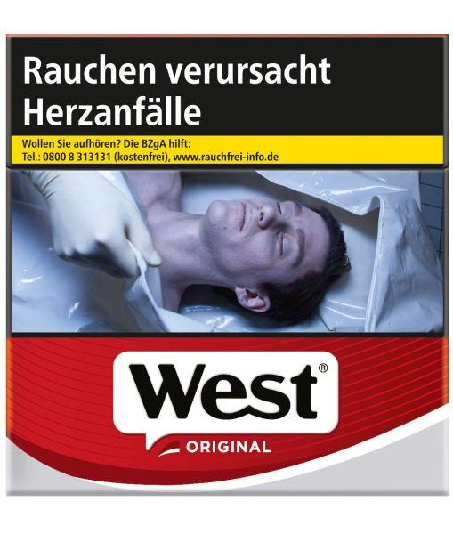 West Zigaretten Original (4x38er)