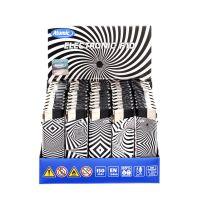 Feuerzeuge Atomic Elektronik F10 Motiv Black & White (50 x 1 Stk.)