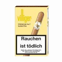Villiger Zigarren Premium No. 7 Sumatra (Schachtel á 5 Stück)
