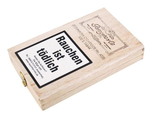 Partageno Zigarren No.6020 Sumatra (Schachtel á 20 Stück)