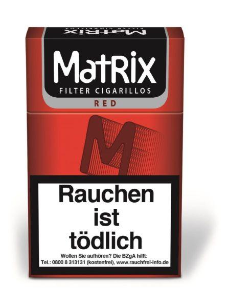 Matrix Zigarillos Red 84mm (10x17 Stück) 2,15 €   21,50 €