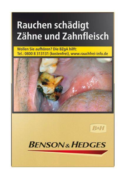 Benson & Hedges Zigaretten Gold (8x23er)