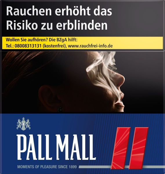 Pall Mall Zigaretten Red €16,50 (Hercules) Limited Edition (3x60er)