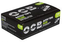 OCB Activ Tips Slim 7mm Aktivkohlefilter nfilter (10 x 50 Stück)