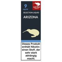 Red Kiwi eLiquid Selection Arizona 9mg Nikotin/ml (10 ml)