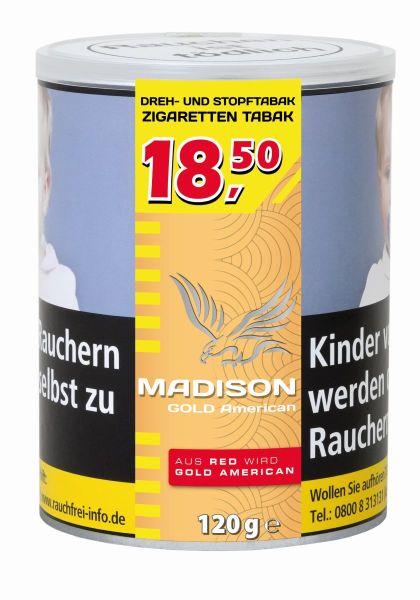 Madison Zigarettentabak Red (Dose á 120 gr.)