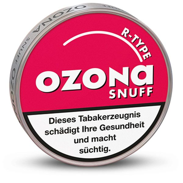 Ozona Schnupftabak R-Type Snuff 5g (10 x 5 gr.)