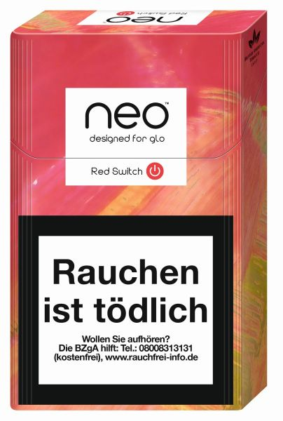 neo Zigaretten Red Switch (Click) 7g (10x20er)