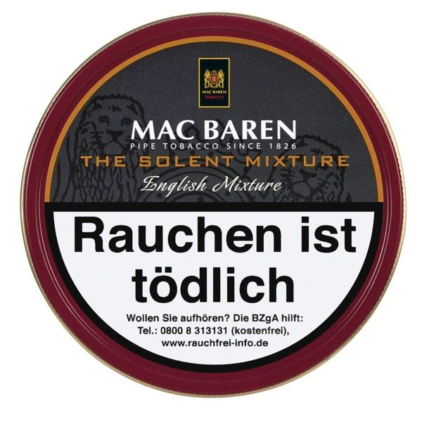 Mac Baren Pfeifentabak Solent (Dose á 100 gr.)
