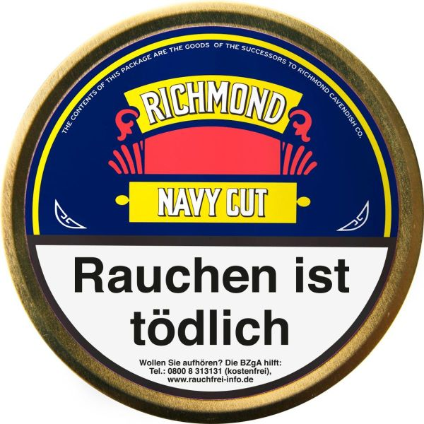 Diverse Pfeifentabak Richmond Navy Cut (Flake) (Dose á 50 gr.)