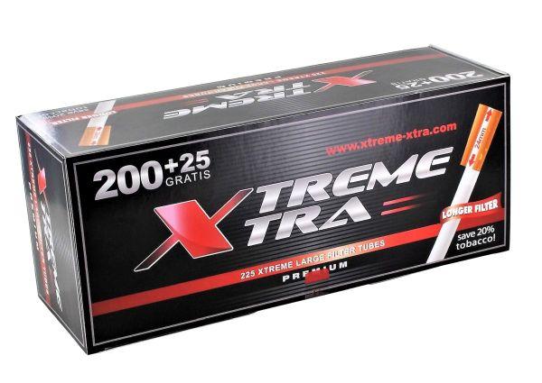 Xtrem Xtra Zigarettenhülsen (225 Stück)