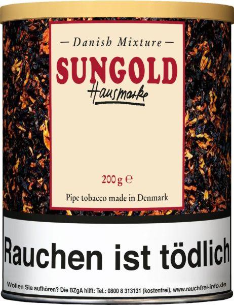 Danish Mixture Pfeifentabak Sungold Hausmarke (Dose á 200 gr.)