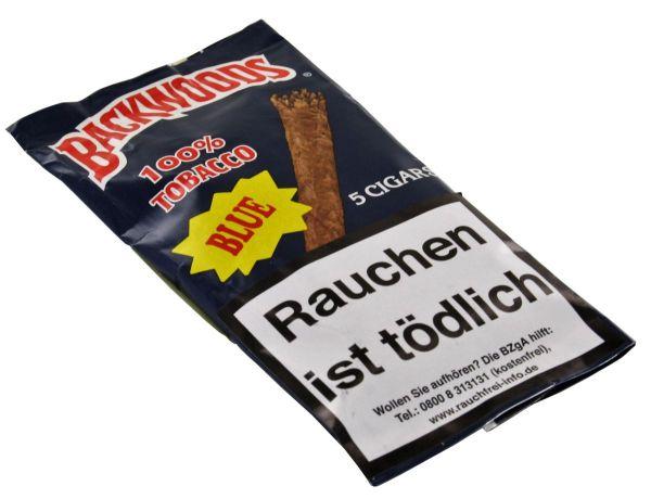 Backwoods Zigarren Authentic Cigars Blue (Packung á 5 Stück)