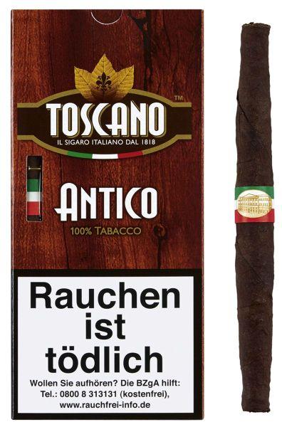 Toscano Zigarren Antico (Schachtel á 5 Stück)
