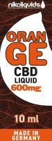 NikoLiquids CBD Orange Liquid 600mg/ml (Flasche á 10 ml)