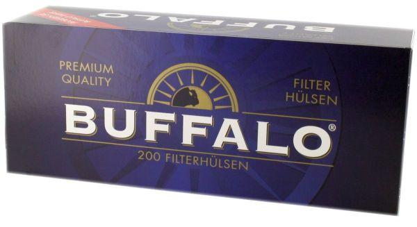 Buffalo Zigarettenhülsen (5 x 200 Stück)