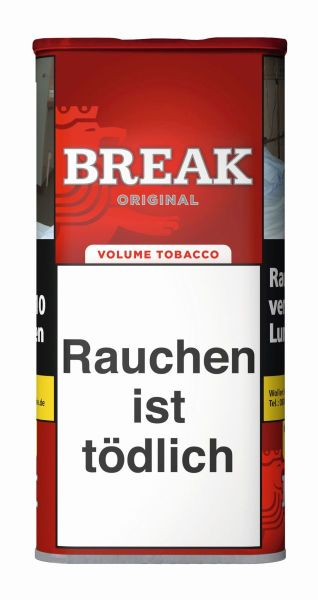 Break Volumentabak Original Volumentabak (Dose á 120 gr.)