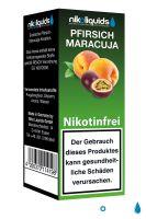 NikoLiquids Pfirsich-Maracuja eLiquid 0mg Nikotin/ml (10 ml)