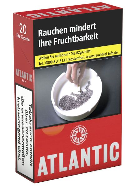 Atlantic Zigaretten Red L (10x20er)