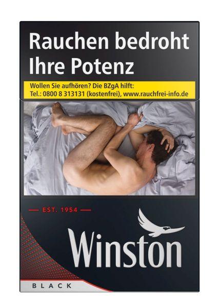 Winston Zigaretten Black (8x25er)