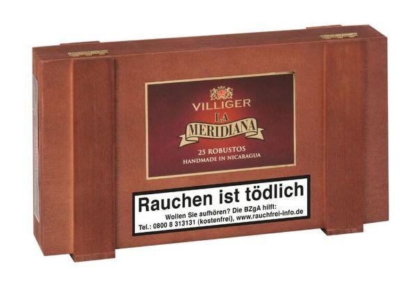 Villiger Zigarren La Meridiana Robusto (Schachtel á 25 Stück)