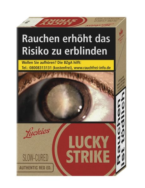 Lucky Strike Zigaretten Automat Automatenp. Authentic Red Edition (20x20er)