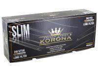 Korona Slim Long Filter 24mm Filterhülsen (240 Stück)
