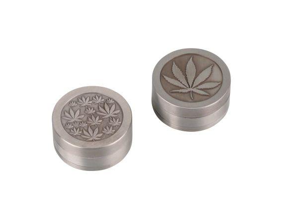"Grinder ""Cannabis"" Metall 3-tlg. 660101 (6 x 1 Stück)"