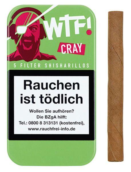 WTF! Zigarillos Shisharillo CRAY (Schachtel á 5 Stück)